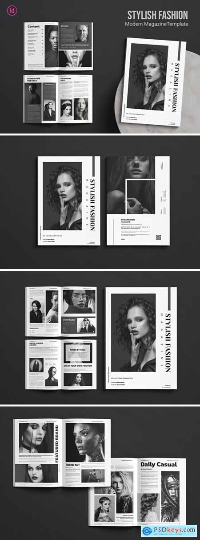 Stylish Fashion – Magazine Template