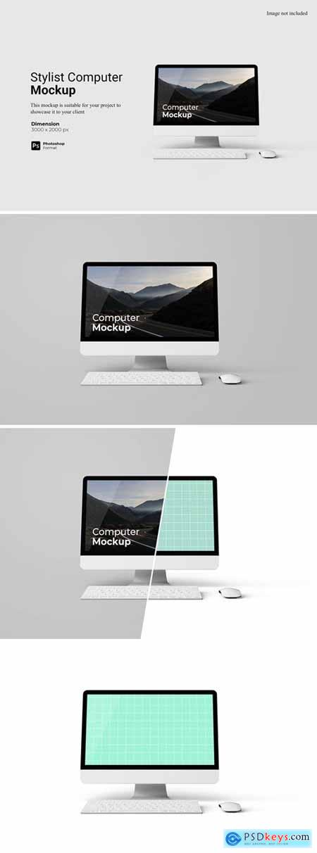 Stylish Computer Mockup