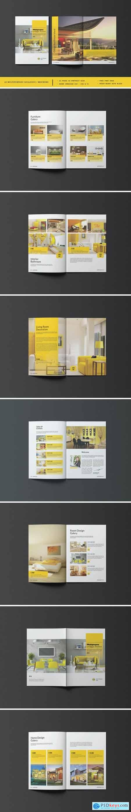A5 Multipurpose Catalog-Brochure