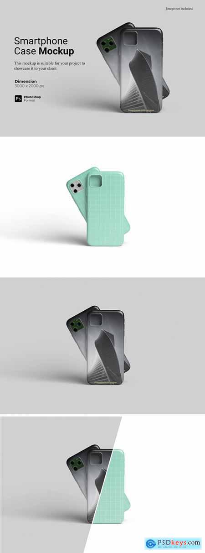 Smartphone Case Mockup Template