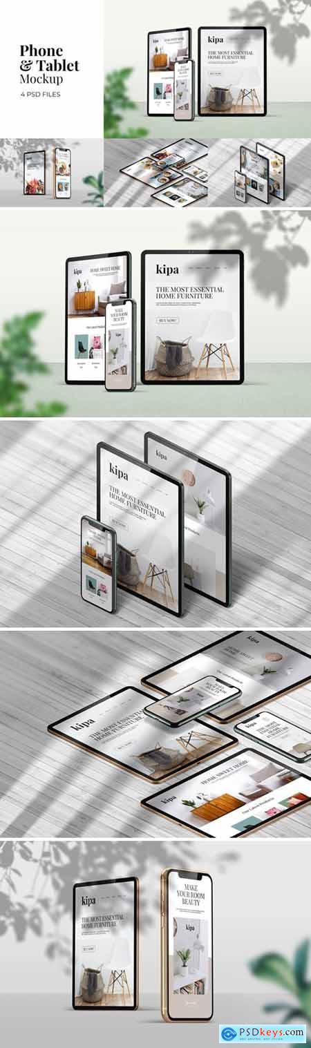 Phone & Tablet - Mockup Vol.1