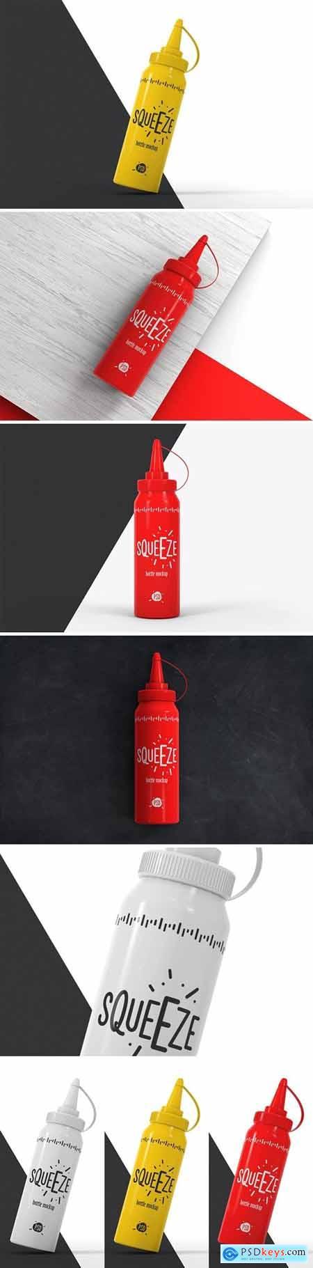 Squeeze Bottle Mockup