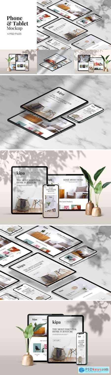 Phone & Tablet Mockup Vol.3