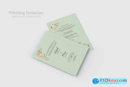 Wedding Invitation - Mockup Template