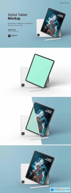 Stylist Tablet Mockup Template