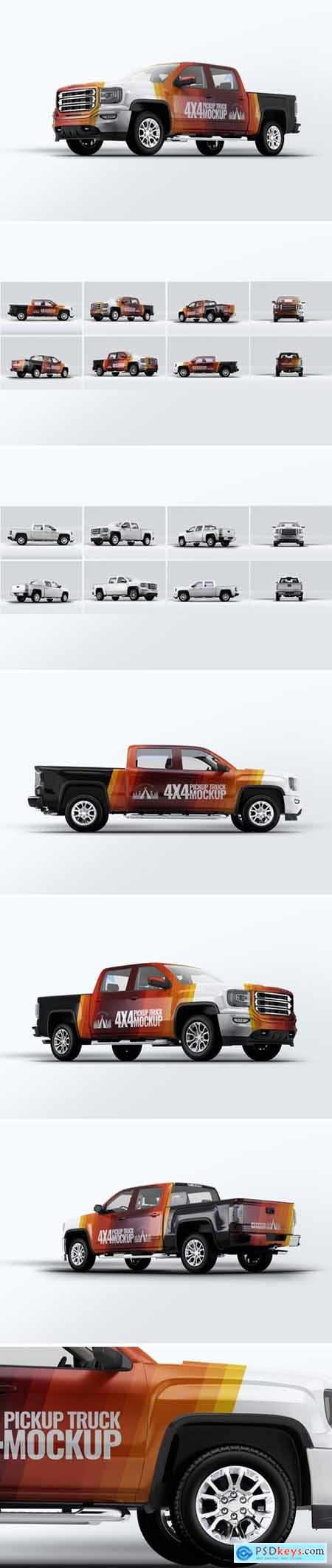 Truck 4X4 Mock-Up