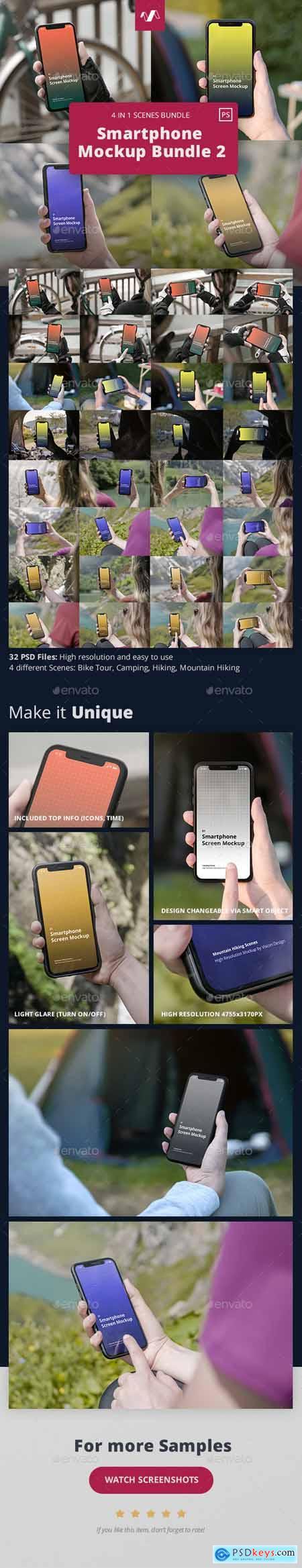 Phone Mockup Scenes Bundle 2 30246998