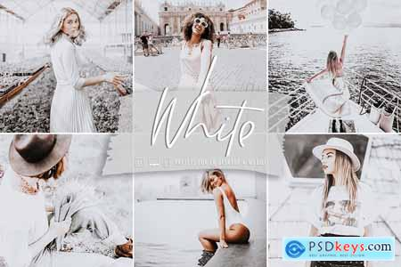 White Lightroom Preset Collectio 5832687