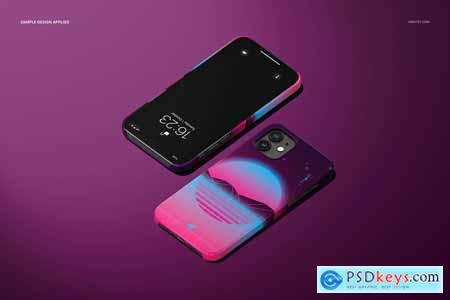 iPhone 12 Glossy Snap Case 1 Mockup 5830160