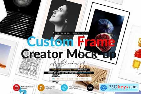 Automatic Frame Mock-up Creator 5824471