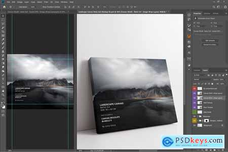 Canvas Mockups Bundle 2 5811614