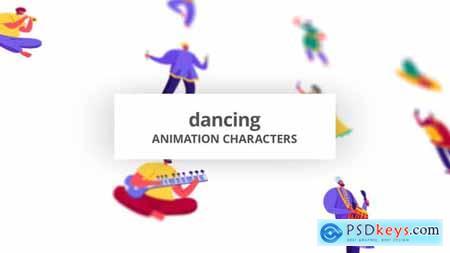 Dancing - Character Set 30142935