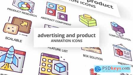 Advertising & Product - Animation Icons 30040193