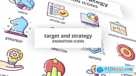 Target & Strategy - Animation Icons 30041906