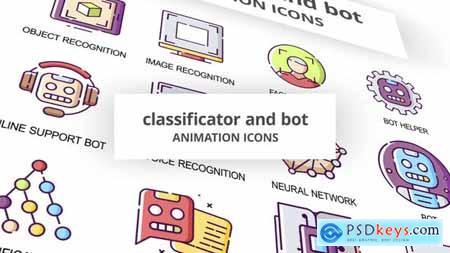 Classificator & Bot - Animation Icons 30041503