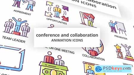 Conference & Collaboration - Animation Icons 30041515