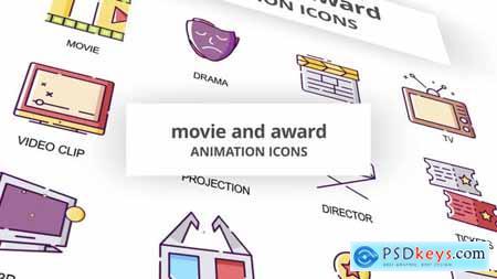 Movie & Award - Animation Icons 30041600