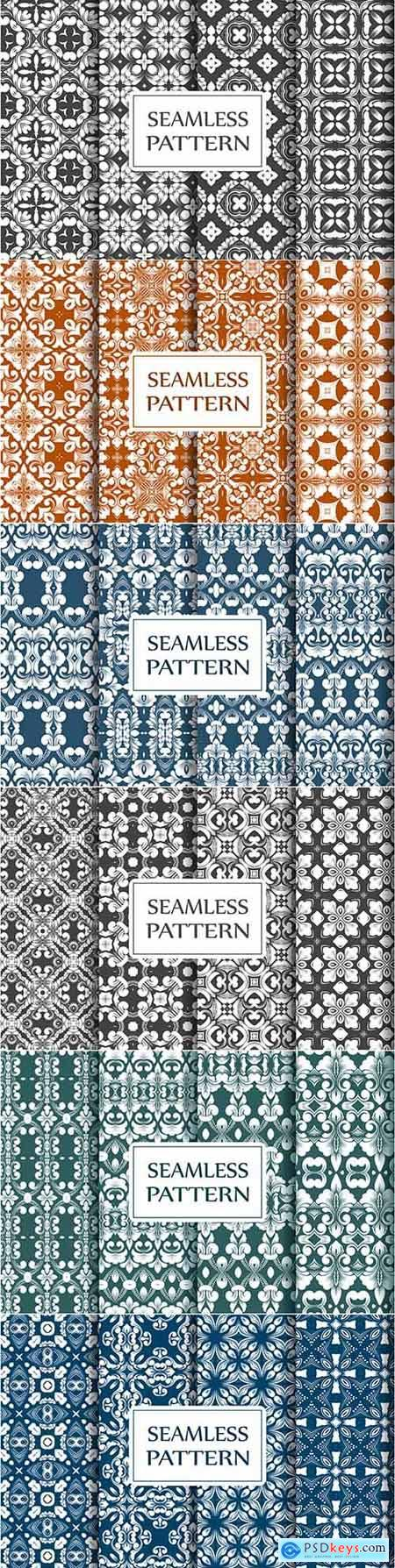 Premium Collection of Seamless Baroque Patterns