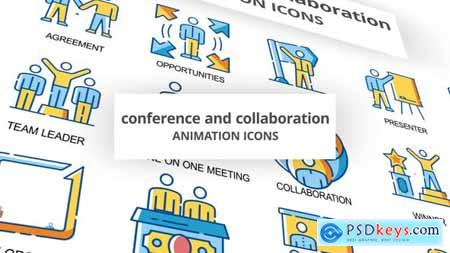 Conference & Collaboration - Animation Icons 30260801