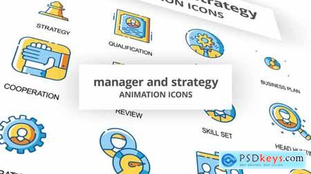 Manager & Strategy - Animation Icons 30260884
