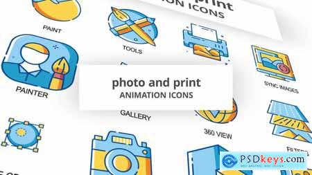 Photo & Print - Animation Icons 30260968