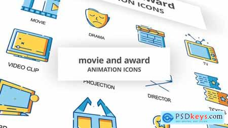 Movie & Award - Animation Icons 30260916
