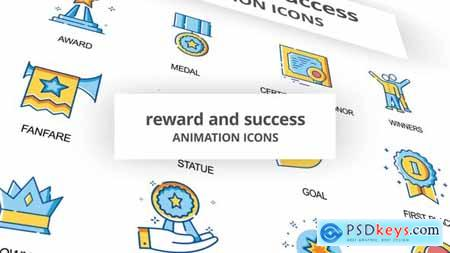 Reward & Success - Animation Icons 30260998