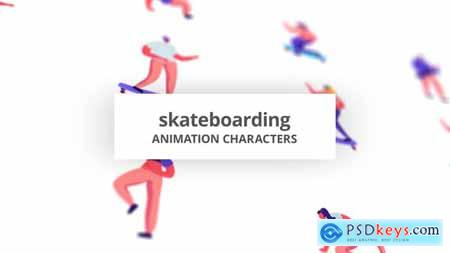 Skateboarding - Character Set 30142953
