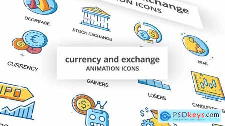 Currency & Exchange - Animation Icons 30260825
