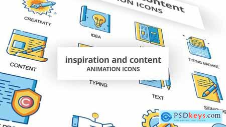 Inspiration & Content - Animation Icons 30260860