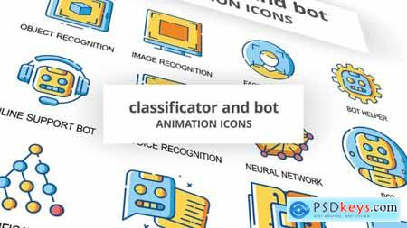 Classificator & Bot - Animation Icons 30260795