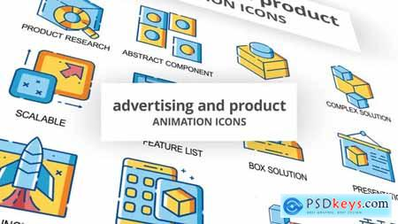 Advertising & Product - Animation Icons 30260755