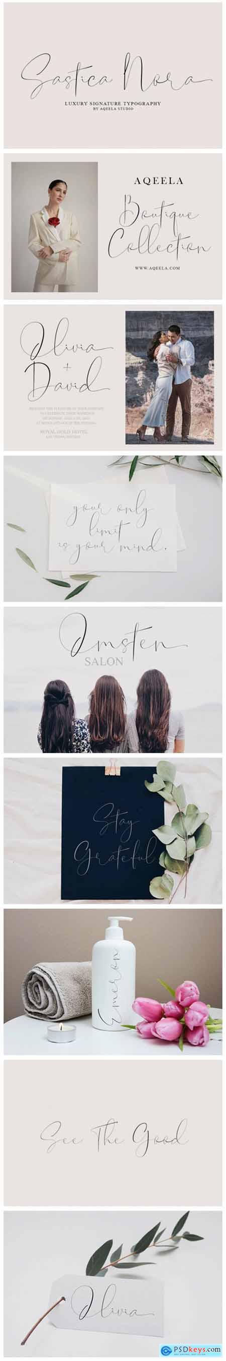 Sastica Nora Font