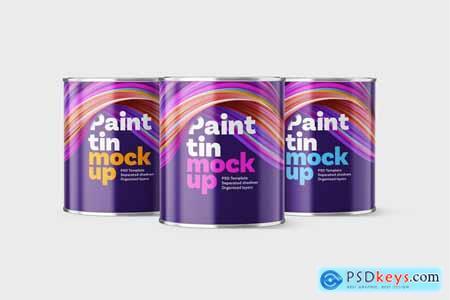Paint Bucket Mockup Set 5806811