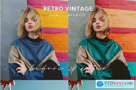 Retro Lightroom Mobile Presets 5014190