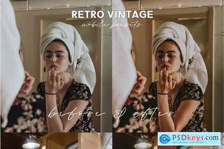 Retro Lightroom Mobile Presets 5014190