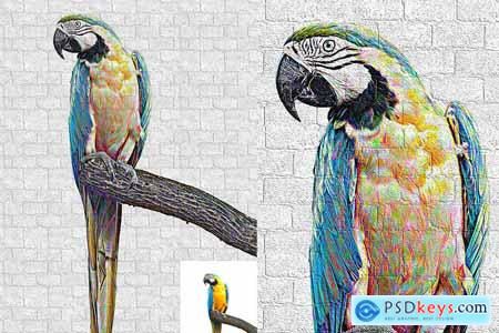 Graffiti Art Photoshop Action 5804789