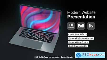 Modern Website Presentation 30245102