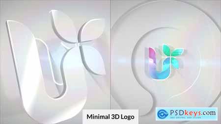 Minimal 3D Logo Reveal 30017933