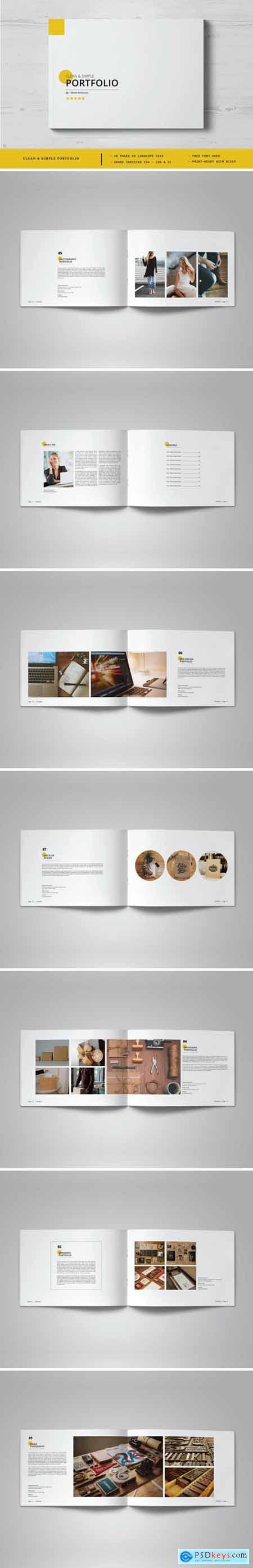 Clean & Simple Portfolio