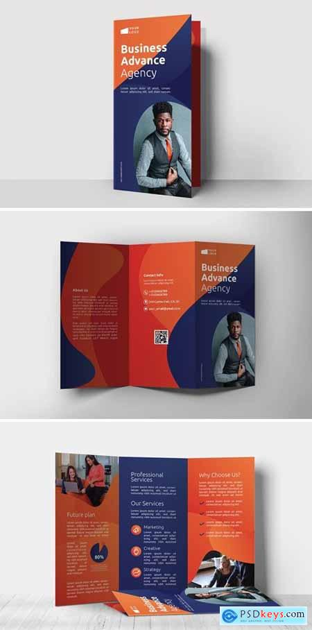 Business Agency – Trifold Brochure