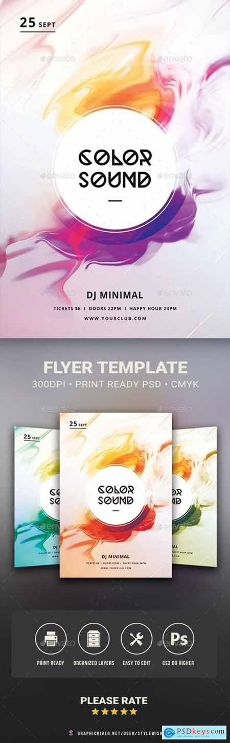 Color Sound Flyer 30096366