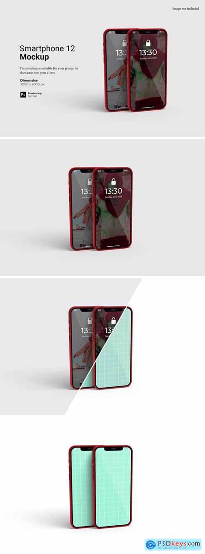 Smartphone 12 Mockup