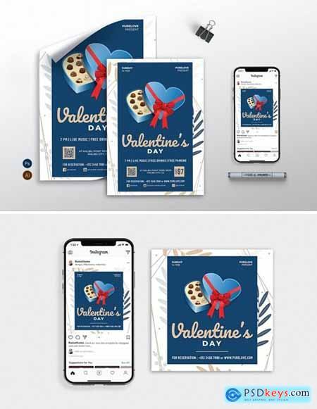 Valentine vol.02 - Flyer, Poster & Instagram RB