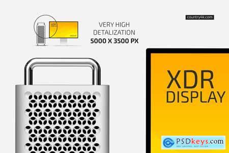 XDR Display Mockup Set 5834112