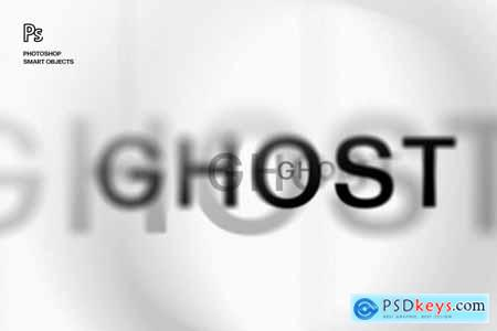 Ghost Lettering Text Effect 5813808