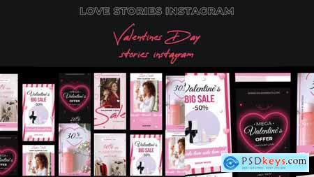 Valentines Day Stories instagram 30310810