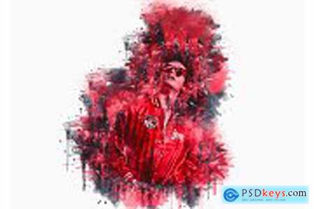 Pro Watercolor Photoshop Action 5785133