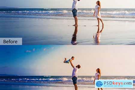 Beach Mobile and Desktop PRESETS 5734325