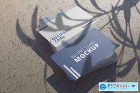 Realistic Business Card Mockup Vol 4